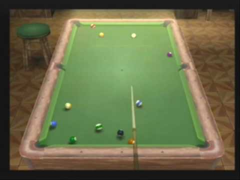CUE SPORTS: POOL REVOLUTION GUMPERSTAIN VS BIGGUYKID 8 BALL