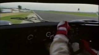 Tiff Needell testing Porsche 962C (1989)