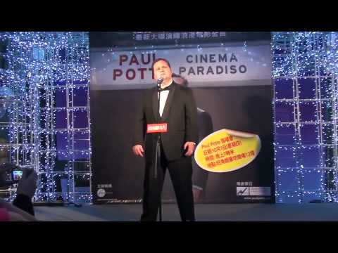Paul Potts- Wonderful World in Hong Kong, 7th October 2010