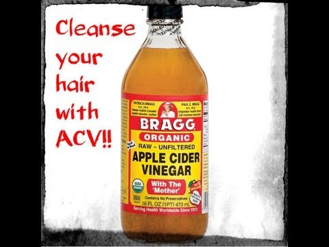 How To Cleanse Natural Hair With Apple Cider Vinegar