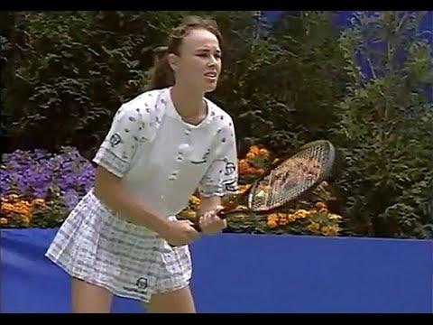 Martina Hingis vs Amanda Coetzer 1996 Australian Open QF Full match.