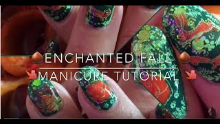 Enchanted Fall Manicure - Tutorial