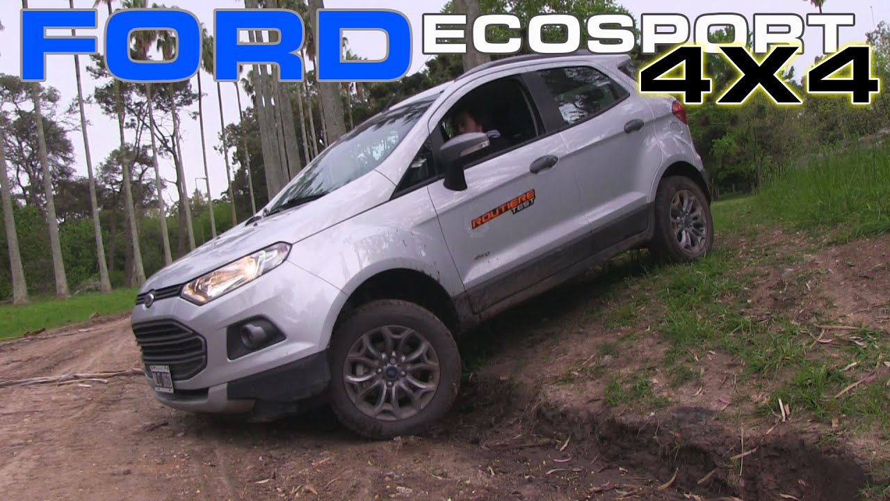 ford ecosport 4x4 freestyle test routi re pgm 289 youtube. Black Bedroom Furniture Sets. Home Design Ideas