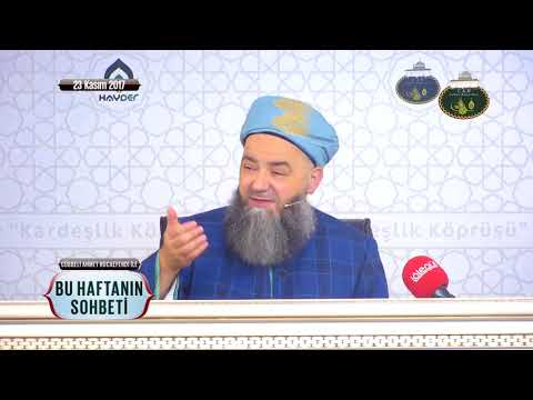 Cübbeli Ahmet Hoca Efendi İle Bu Haftanın Sohbeti 23 Kasım 2017