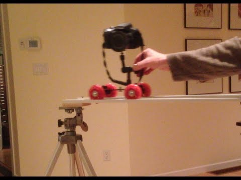 DIY Video Pico Dolly Slider Fast and Functional!