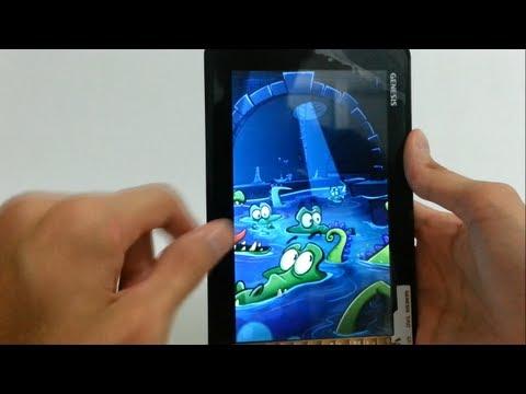 Tablet Genesis GT-7240: Review. Teste de Jogos e Primeiras Impressões