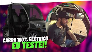 ⚡ DIRIGI um carro 100% ELÉTRICO!  (Hitech e.coTech2)