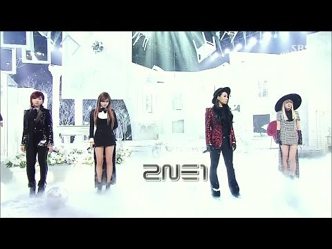 2ne1 1124 sbs Inkigayo 그리워해요(missing You) video