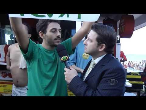 Pânico na Band na Marcha da Maconha 2013 Rio de Janeiro