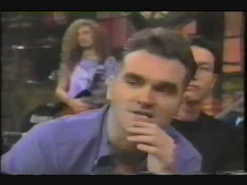 MORRISSEY at MTV 1992, launch album  - Your arsenal -
