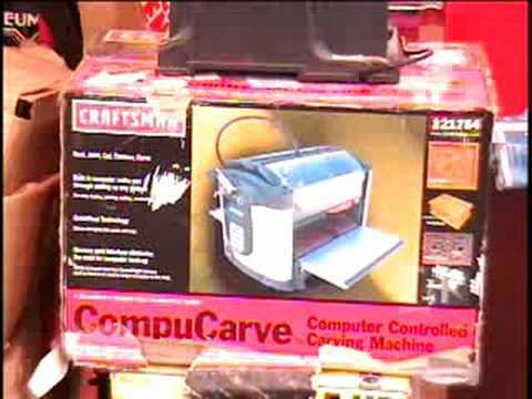 craftsman compucarve computer controlled carving machine