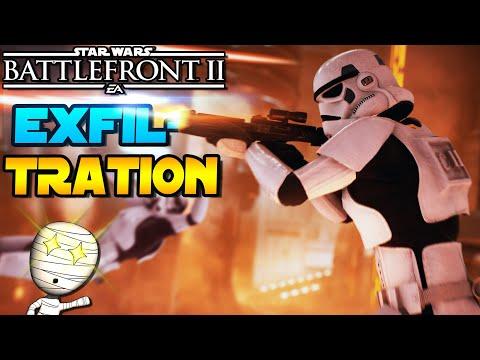 Der Exfiltration Modus! - Star Wars Battlefront 2 - PS5 Tombie Gameplay deutsch