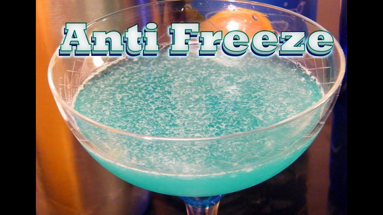 Antifreeze Drink Recipe Blue Curacao
