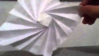 Origami Radial Flasher By Jeremy Shafer - Not A Tutorial