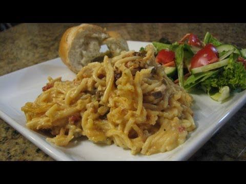 Slow Cooker Cheesy Chicken Spaghetti- Lynn's Recipes