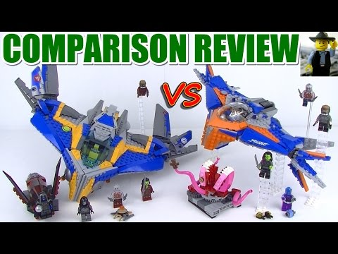 Lego Milano 76021 vs 76081 Review & Comparison