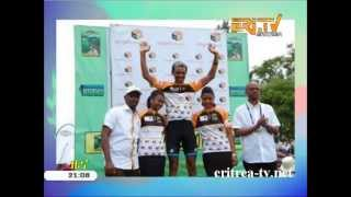 Eritrean cyclist Mekseb Debesay wins 6th stage of tour de Rwanda - EriTV