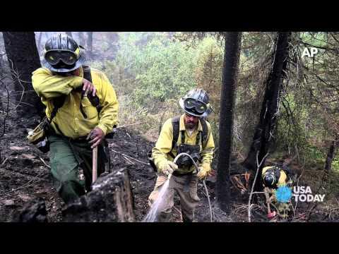 Wildfires threaten Yosemite, Yellowstone