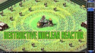 Red Alert 2 & Yuri's Revenge - Destructive Nuclear Reactor - Test map with AI