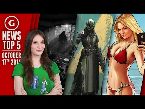 Destiny Has 3.2M Players & GTA Makes Lindsay Lohan Mad - GS News Top 5