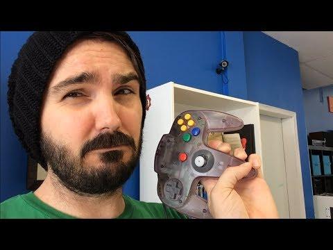 How To Fix Loose Nintendo 64 Joysticks    N64    mmmStephen