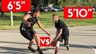 "The Professor vs 6'5"" Hooper ...doesn't even try on defense"