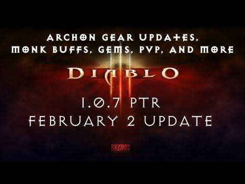 Diablo 3 1.0.7 PTR - February 2nd Update