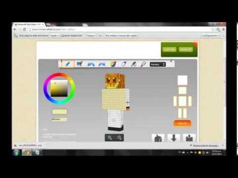 Como crear un skin para Minecraft 1.5.2