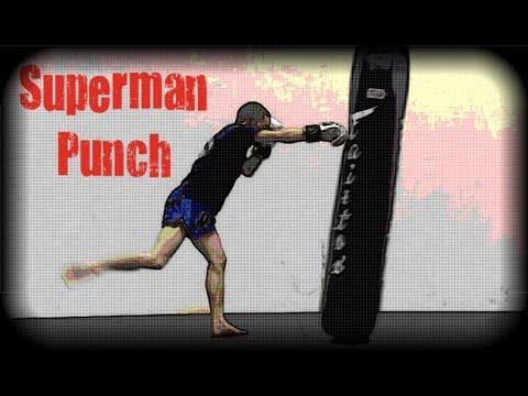 Muay Thai - How to Throw a Superman Punch Image 1