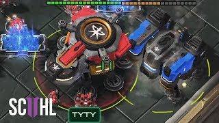 TERRAN TITANS! - Starcraft 2: TY vs Maru