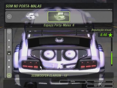 Need For Speed Underground 2 - Tuning Mustang GT e uma testadinha!
