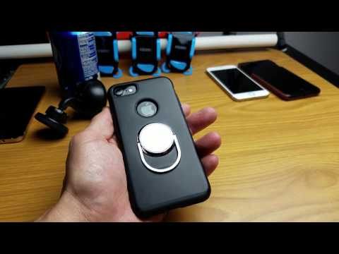 iPhone 7: Magnet Ring Grip / Kickstand Case Review
