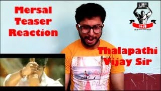 Mersal Teaser || Thalapathi Vijay || North Indian Hindi Fan Reaction & Review | leJB