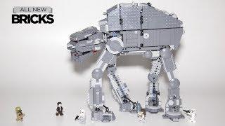 Lego Star Wars 75189 First Order Heavy Assault Walker Speed Build