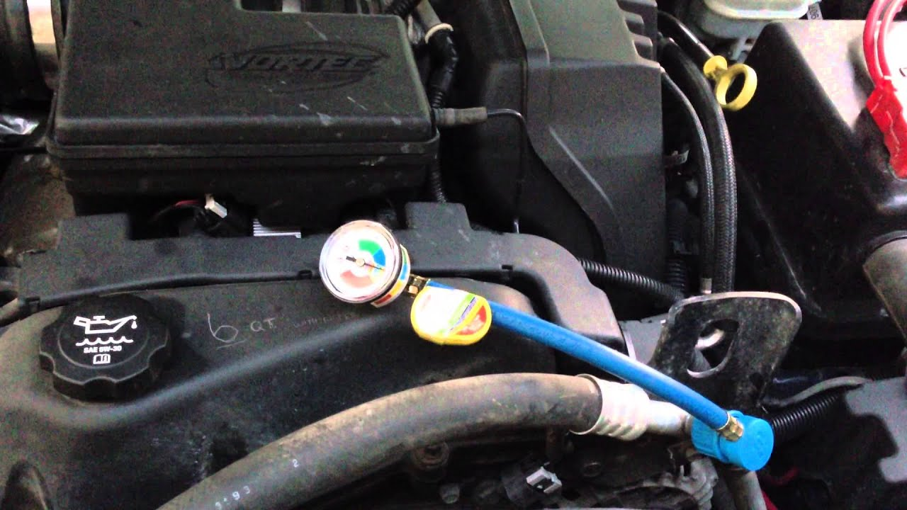 04 Chevy Colorado A C Compressor Keeps Kicking In And Out