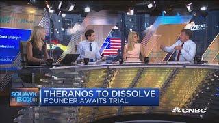 Theranos to dissolve as founder Holmes awaits trial