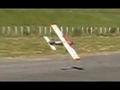 Flying RC planes in a gale-force wind