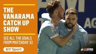 Vanarama National League Highlights Show | Matchday 33