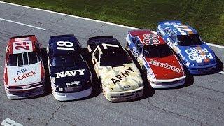 NASCAR Salutes: Patriotic paint schemes