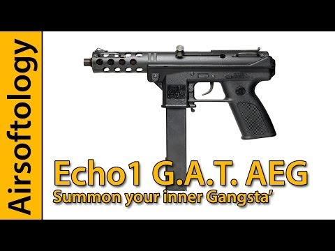 Echo1 G.a.t. Prototype Review | The Small And Powerful Aeg Is Finally Here! | Airsoftology video