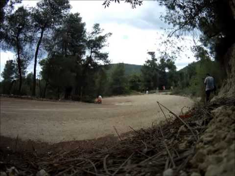 Jari-Matti Latvala testing VW Polo WRC for Acropolis Rally 2013