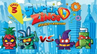 SuperZings Series 3 Rivals