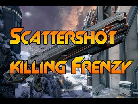 Halo 4 Scattershot Killing Frenzy on FFA