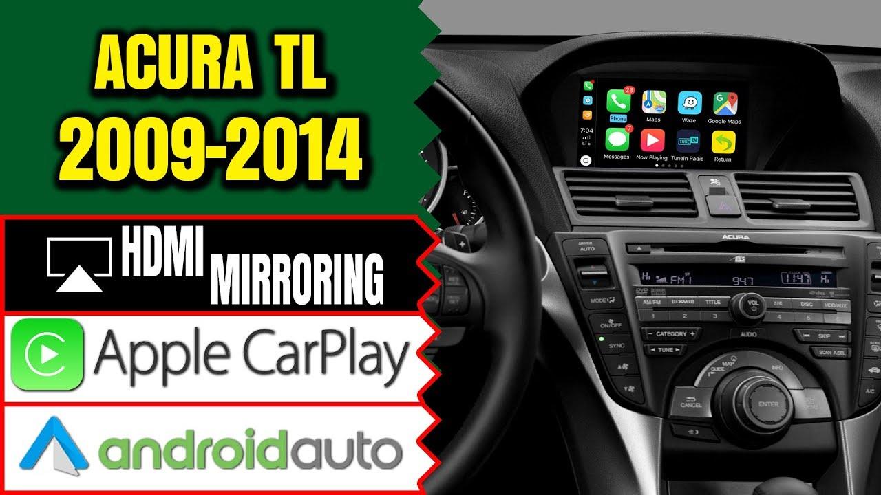 Acura Tl 2009 2013 Navtool Navigation Video Interface
