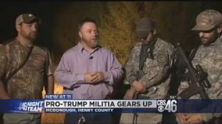 Pro-Trump Militia Numbers Explode in response to
