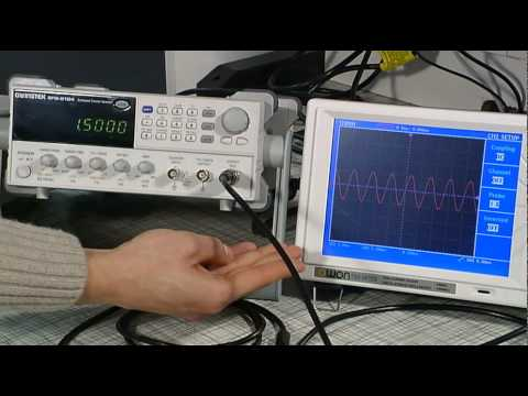Use of Basic Laboratory Equipment: Episode 4 - Function generator