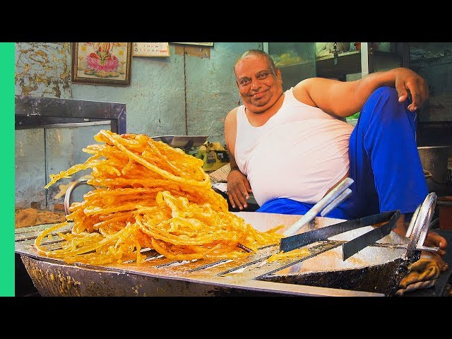 Sweet INDIAN STREET FOOD Tour in North India! Indias Dessert Capital!