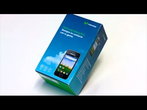 MOVISTAR - Samsung Galaxy ACE Unboxing