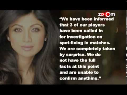 Shilpa Shetty upset about spot fixing
