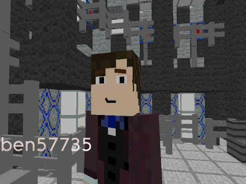 Minecraft 11th Doctor regeneration Doctor Who